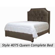 Elizabeth Khaki 4075QHB - 4075 Queen Headboard