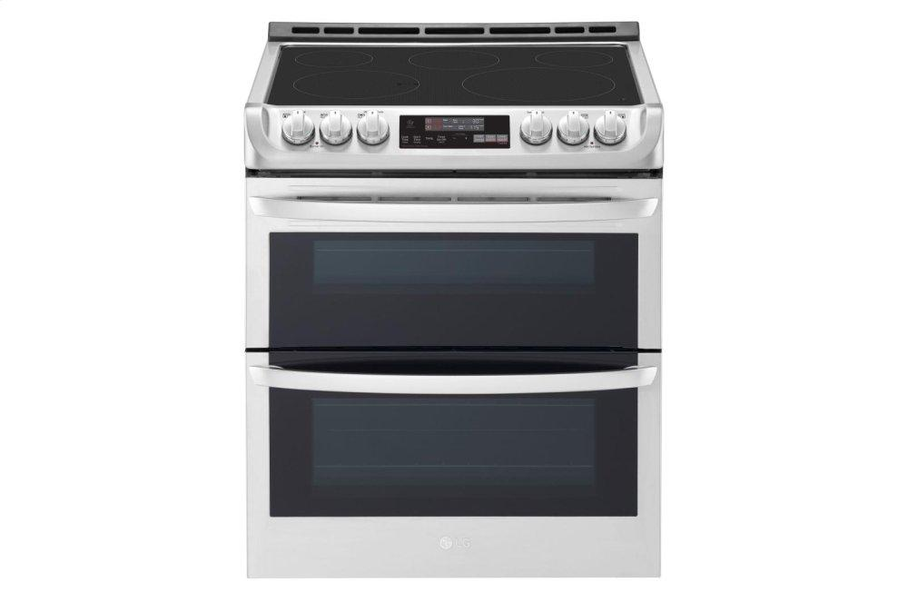 Lg7.3 Cu. Ft. Smart Wi-Fi Enabled Electric Double Oven Slide-In Range With Probake Convection® And Easyclean®