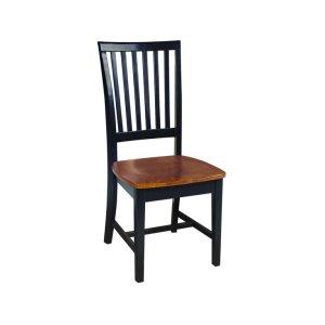 JOHN THOMAS FURNITUREMission Chair in Black & Cherry