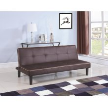 Casual Brown Sofa Bed