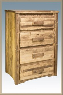 Homestead 4 Drawer Chest of Drawers - Stained and Lacquered