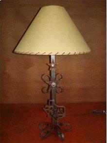 Texas Map Metal Lamp