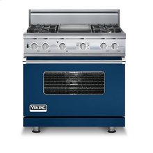 "36"" Custom Sealed Burner Dual Fuel Electronic Control Range, Propane Gas"
