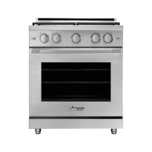 "Dacor30"" Heritage Gas Pro Range, Silver Stainless Steel, Natural Gas/High Altitude"