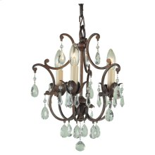 3 - Light Mini Duo Chandelier