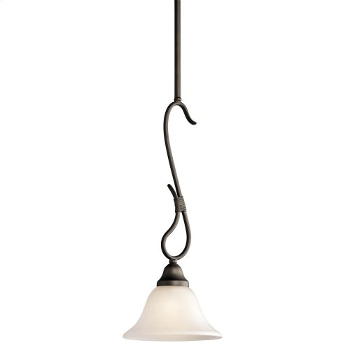 Stafford Collection Stafford 1 Light Mini Pendant in Antique Pewter