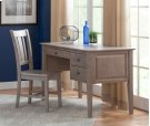 2-Drw Executive Desk Taupe Gray Product Image
