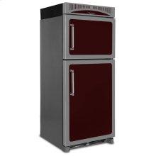 Cranberry Left Hinge Classic Refrigerator Top Mount Freezer