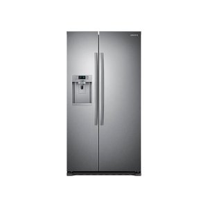 22 cu. ft. Counter Depth Side-by-Side Refrigerator in Stainless Steel - STAINLESS STEEL