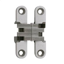 Model 204SS Stainless Steel Invisible Hinge Satin Stainless Steel