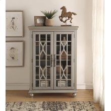 Anthology Meghan Tall Chest Antique Silver