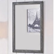 "Rustic Chic 22"" Mirror - Silvered Oak Product Image"