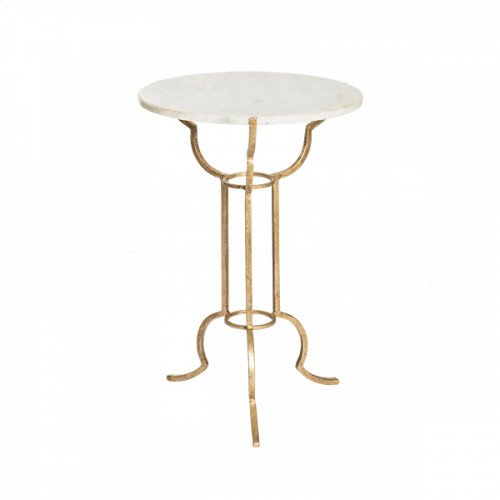 Portrack House Gold Garden Table No. 1
