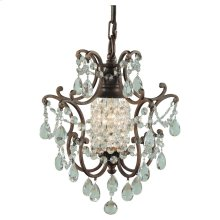 1 - Light Mini Duo Chandelier