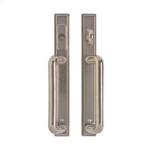 "Stepped Entry Sliding Door Set - 1 3/8"" x 11"" Bronze Dark Lustre"
