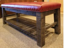 Yellowstone Rustic Bench