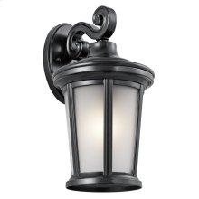 Turlee Collection Turlee 1 Light Outdoor Wall Lantern BK