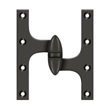 "6"" x 5"" Hinge - Oil-rubbed Bronze"