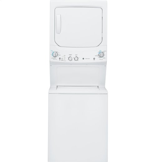 GE Unitized Spacemaker® 3.2 DOE cu. ft. Washer and 5.9 cu. ft. Electric Dryer