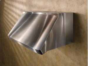 "Centro - 54"" Stainless Steel Pro-Style Range Hood with internal/external blower options"