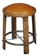 Wine Barrel Staves Stool Product Image