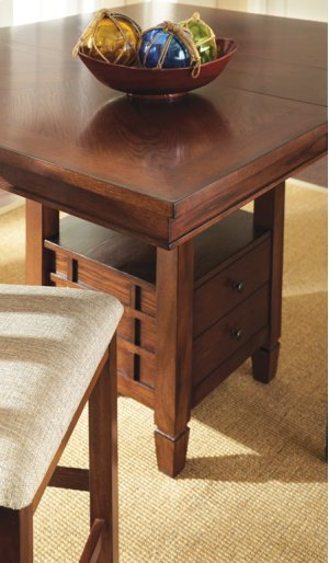 """Bolton Table Top, 48""""x48""""x60"""" W/12"""" Butterlfy Leaf"""