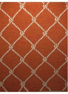 50823jz-2 Orange/white Rug