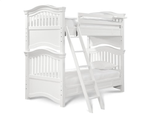 Bunk Bed (Twin) - Summer White