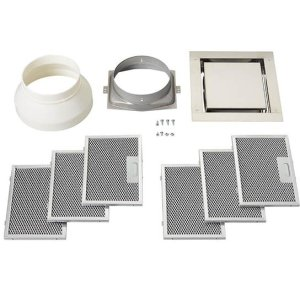 Non-duct recirculation kit for use with the BEST® CC34 Cirrus ceiling hood -