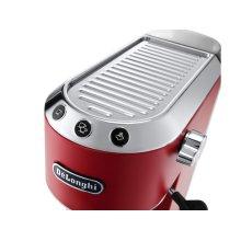 Dedica DeLuxe Manual Espresso Machine, Cappuccino Maker - Red - EC685R
