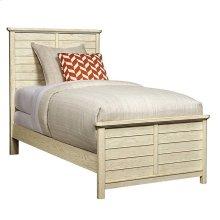 Driftwood Park-Panel Bed in Vanilla Oak - Twin