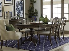 Provence Double Pedestal Dining Table