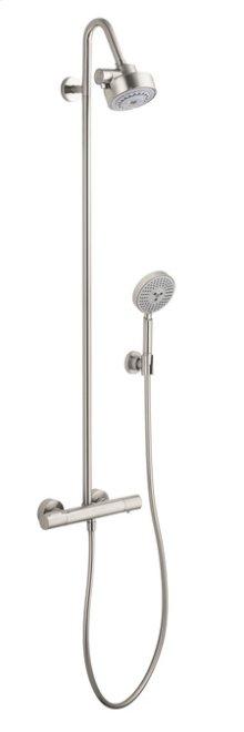 Brushed Nickel Citterio M Showerpipe