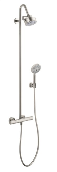Brushed Nickel Citterio M Showerpipe