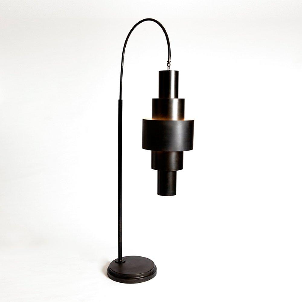 Babylon Floor Lamp-Bronze