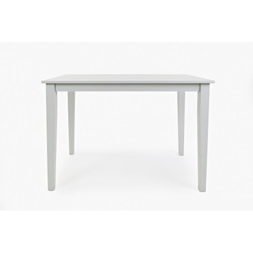 Simplicity Counter Height Dining Table - Dove