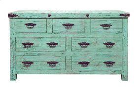Painted Reclaimed Look Dresser