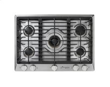 "Renaissance 36"" Gas Cooktop, in Stainless Steel, Natural Gas - High Altitude"