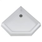 Town Square 38 Inch by 38 Inch Neo Angle Shower Base - White Product Image