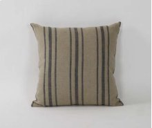 20x20 Blue Stripe Pillow