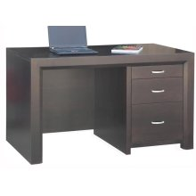 Contempo Single Ped Executive Desk
