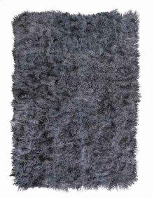 Moritz Mor01 Smoke Rectangle Rug 5'3'' X 7'5''