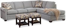 Bedford Two-Piece Bumper Sectional