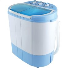 Compact and Portable Washer and Spin Dryer