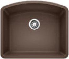 Blanco Diamond Single Bowl Silgranit II (um) - Cafè Brown