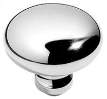 """Antique Brass Unlacquered Profile door knobs pair, 2"""" diameter"""