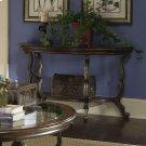 Ambrosia - Demilulne Sofa Table - Terra Sienna Finish Product Image