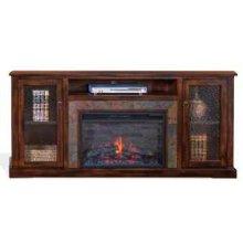 Santa Fe Fireplace Media Console