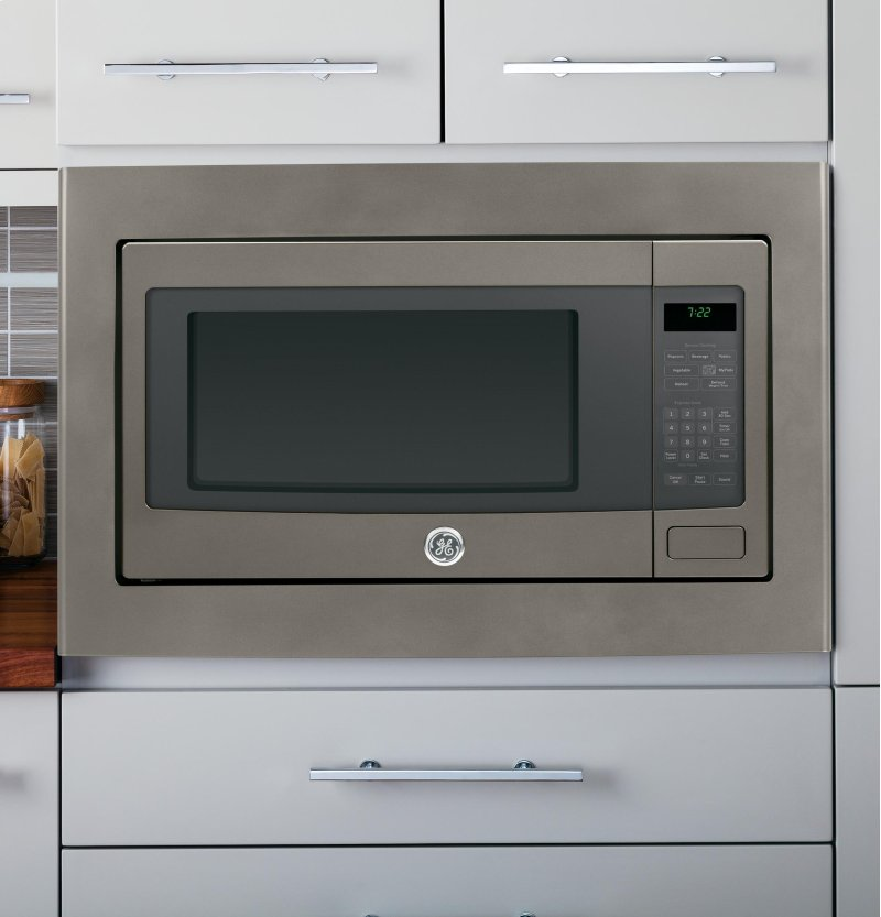 Hidden Additional Ge Profile Series 2 Cu Ft Countertop Microwave Oven