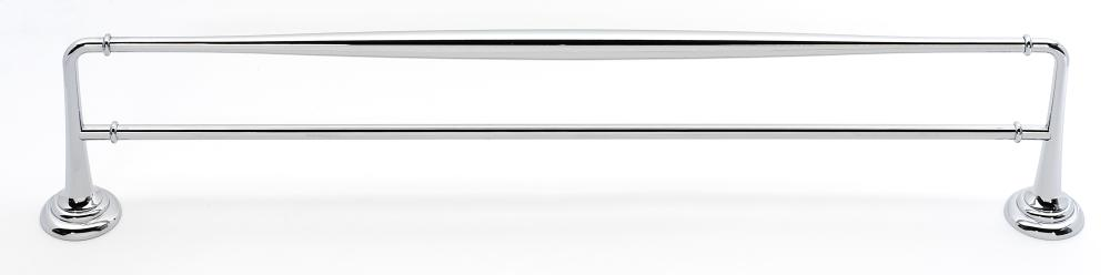 Charlie's Collection Double Towel Bar A6725-24 - Polished Chrome